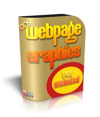 Product picture 1009 Webpage Graphics with Master Resale Rights