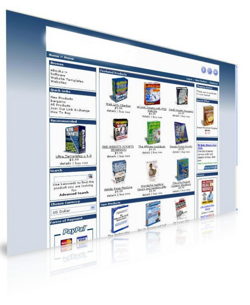 Product picture Automated Ebook Webstore