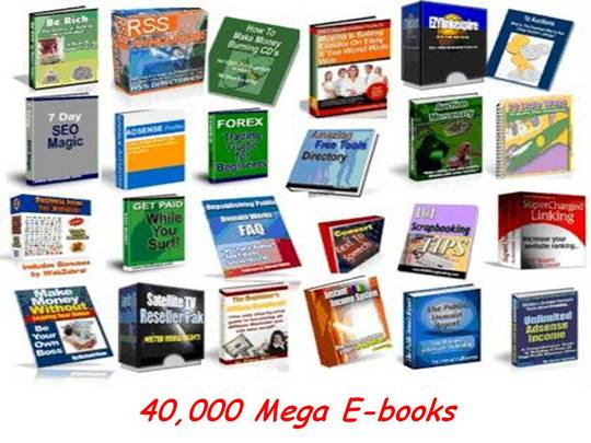 Product picture 40 000 Ebooks